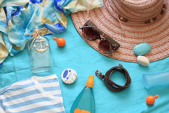 potřeby na pláž