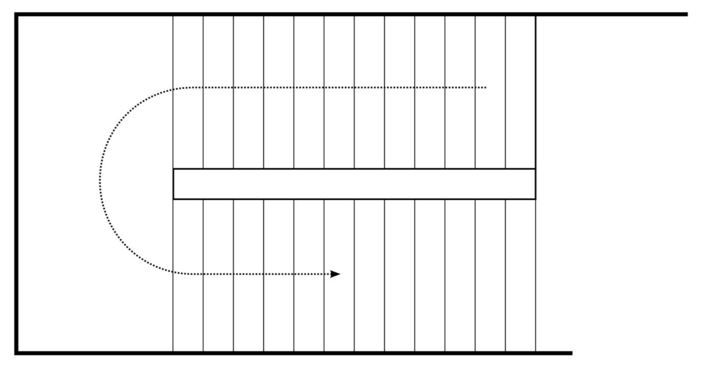 půdorys schodů